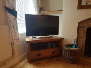 Smart TV, Now TV, Netflix and DVD at our holiday cottage in Suffolk
